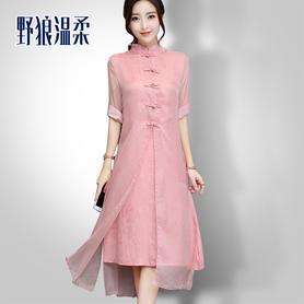 旗袍连衣裙改良旗袍裙