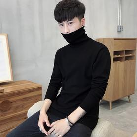 男士打底衫高领毛衣针织衫