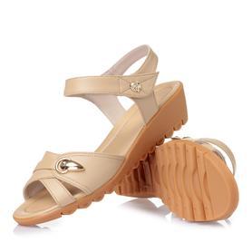 夏季妈妈鞋软底中老年女凉鞋