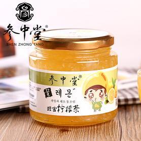 参中堂蜂蜜柠檬茶500g