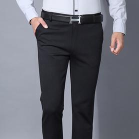 男士弹力休闲裤修身直筒弹力西裤