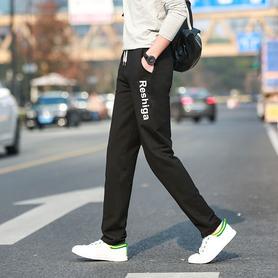 运动裤男修身休闲裤