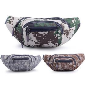 防水帆布多功能大容量户外腰包