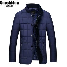 男士冬季棉衣立领加厚保暖外套