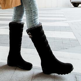 女冬季新款棉靴子雪地靴高筒靴