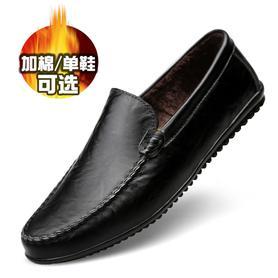 冬季男鞋加绒保暖棉鞋