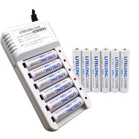 充电电池套装5号7号各6节