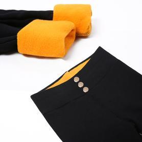 加绒加厚黄金绒高腰显瘦小脚裤