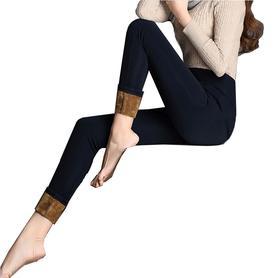 高个子高腰加长加厚加绒打底裤