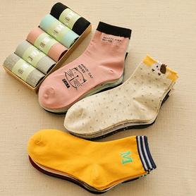 纯棉防臭中筒袜10双