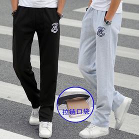 男冬季加厚运动长裤