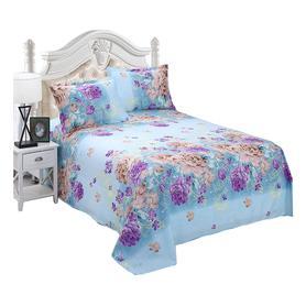新品加厚舒适磨毛床单