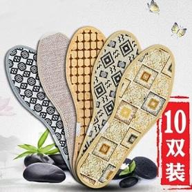 [5-10双]香薰除臭鞋垫男女透气吸汗防臭加厚保暖皮鞋运动鞋垫冬季