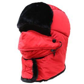 青年户外骑车防寒保暖雷锋帽