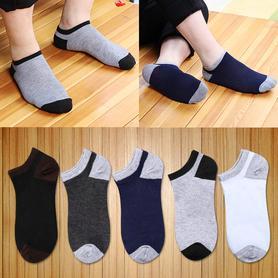 10双装袜子男低帮棉袜防臭吸汗