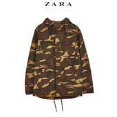 ZARA 03918470505 男士迷彩外套